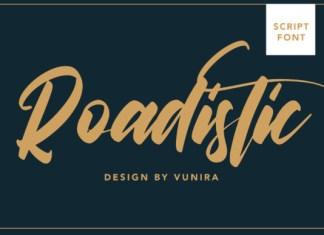 Roadistic Font