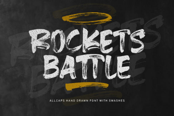 Rockets Battle Font