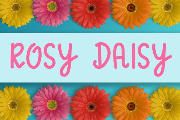 Rosy Daisy Font