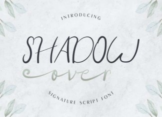 Shadow Over Font