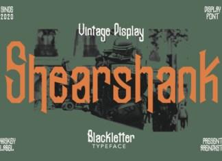 Shearshank Font