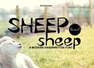Sheep Sheep Font