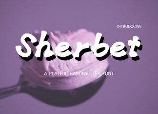 Sherbet Font
