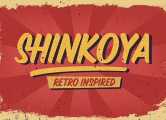 Shinkoya Font