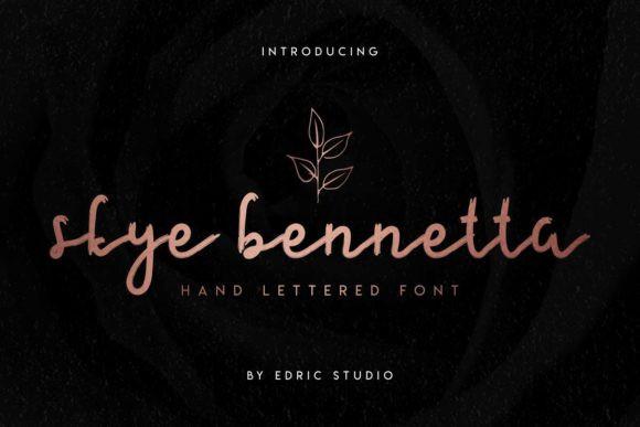 Skye Bennetta Font