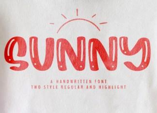 Sunny Font