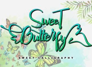 Sweet Butterfly Font