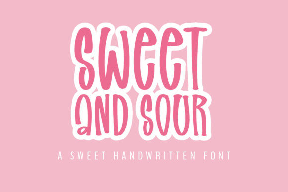 Sweet and Sour Font