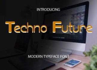 Techno Future Font