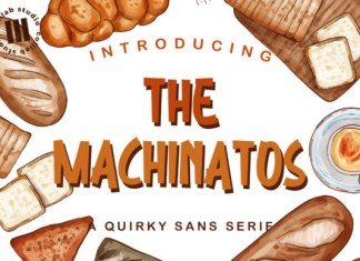 The Machinatos Font
