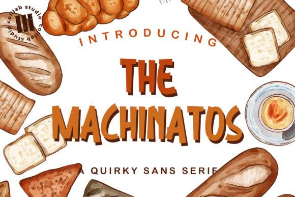 The Machinatos Font