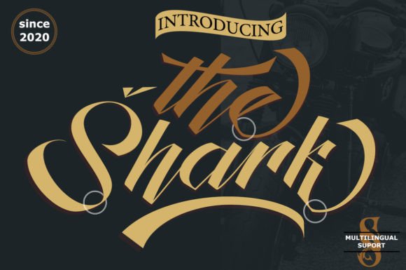 The Shark Font