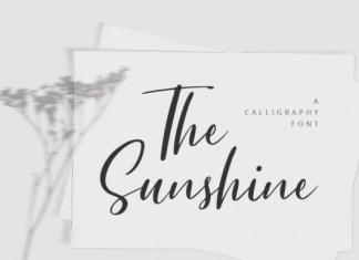 The Sunshine Font