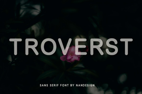 Troverst Font