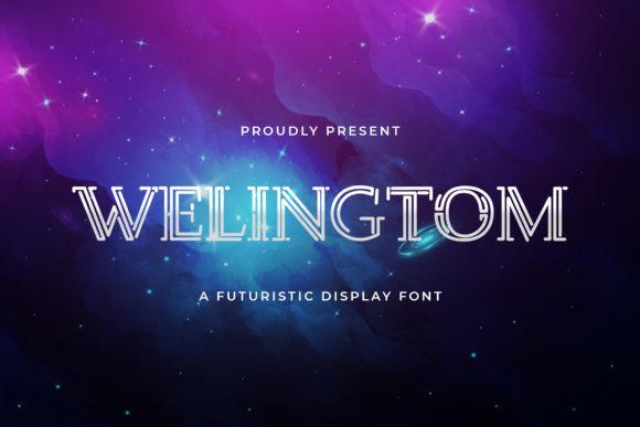 Welingtom Font