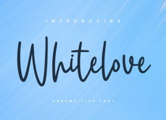 Whitelove Font