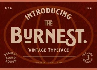 Burnest Font