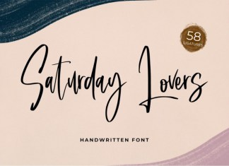Saturday Lovers Font