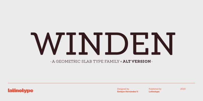 Winden Font
