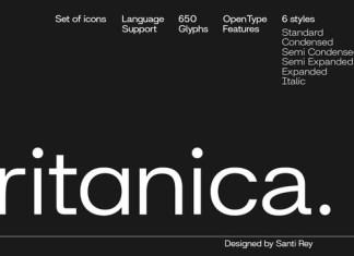 Britanica Font