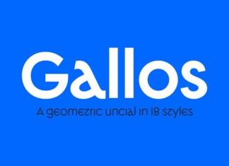 Gallos Font