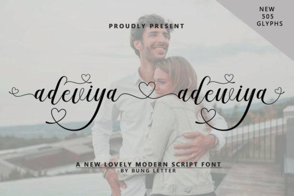 Adeviya Adewiya Font