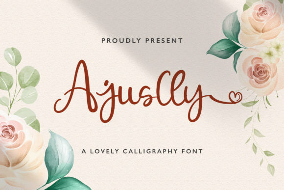 Ajuslly Font