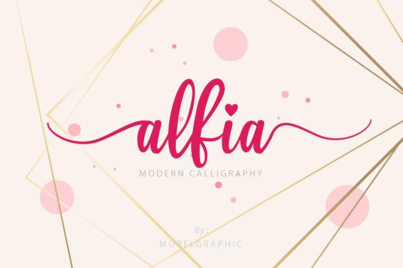 Alfia Font