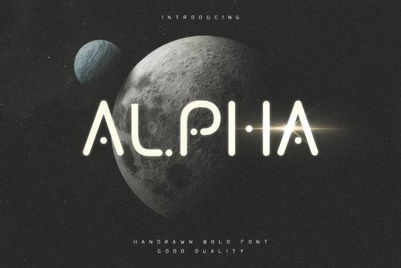 Alpha Font