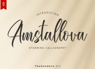 Amstallova Font