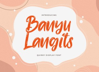 Banyu Langits Font