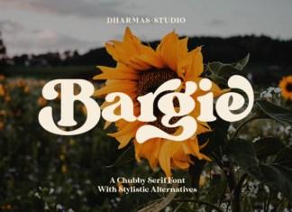 Bargie Font