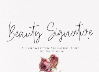 Beauty Signature Font