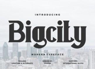 Bigcity Font
