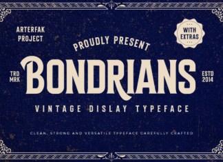 Bondrians Font