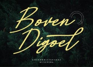 Boven Digoel Font