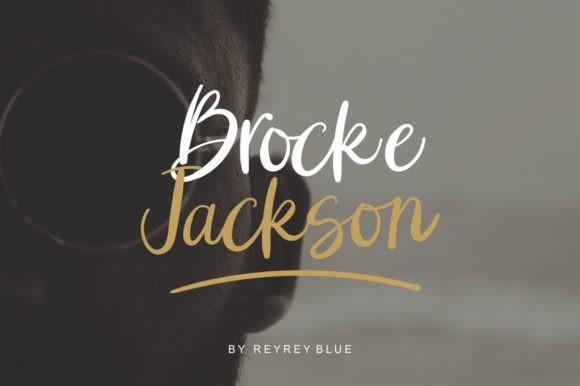 Brocke Jackson Font