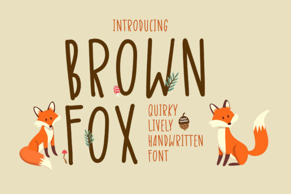Brown Fox Font