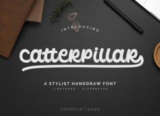 Catterpillar Font