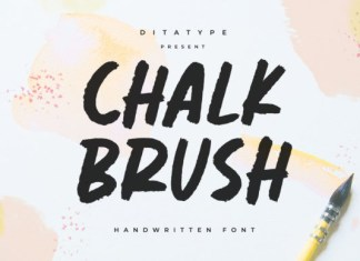 Chalk Brush Font
