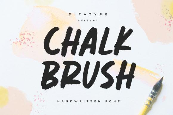 Chalk Brush Font