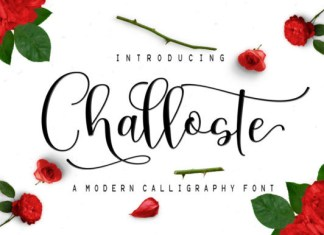 Challoste Font