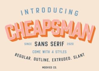 Cheapsman Font