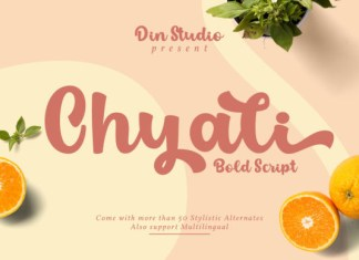 Chyali Font