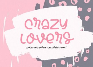 Crazy Lovers Font