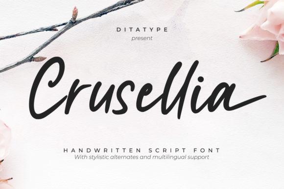 Crusellia Font