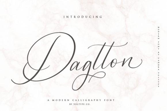 Dagtton Font