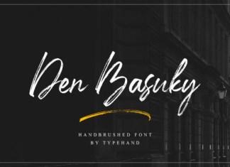 Den Basuky Font