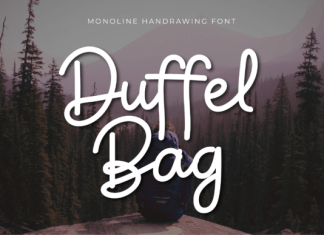 Duffel Bag Font