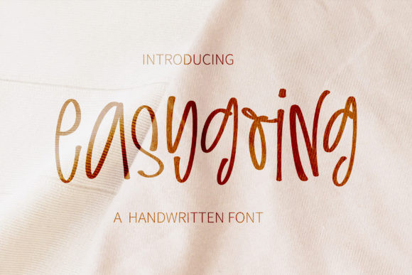 Easygoing Font
